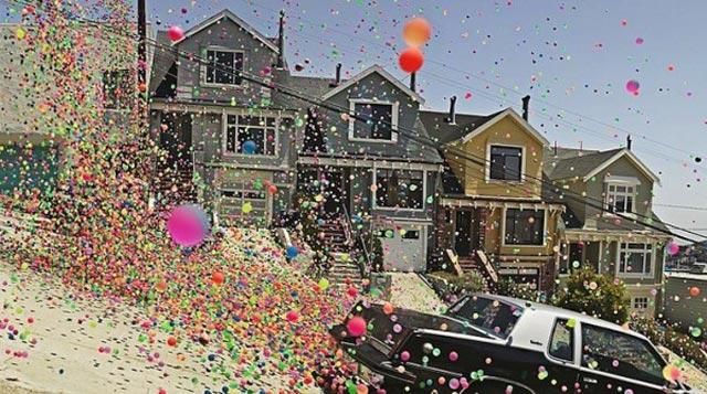 San Francisco Bouncy Balls