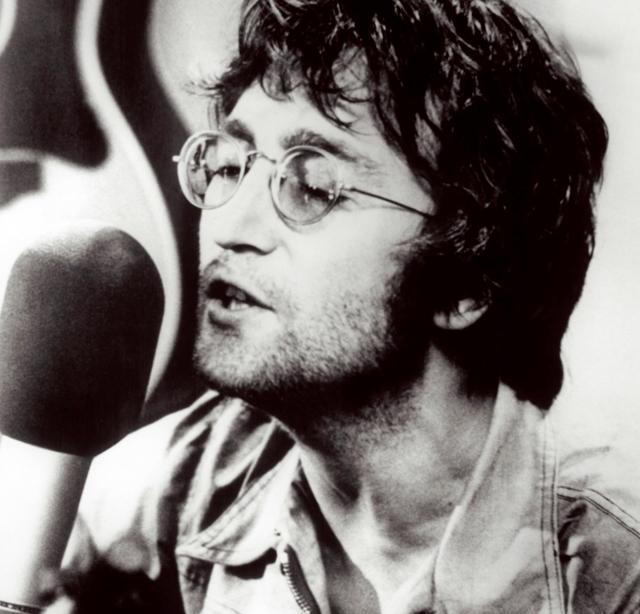 John Lennon - photo by Spud Murphy