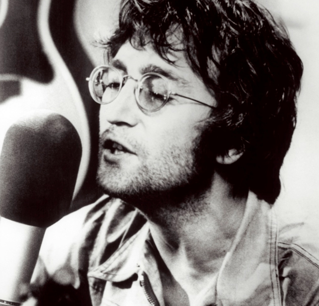 John Lennon - photo by Spud Murphy